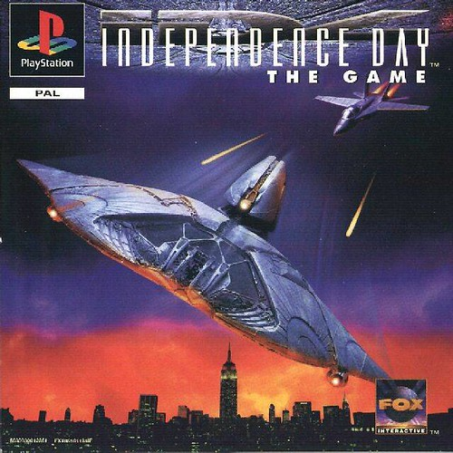Independence Day - Game Cover 1