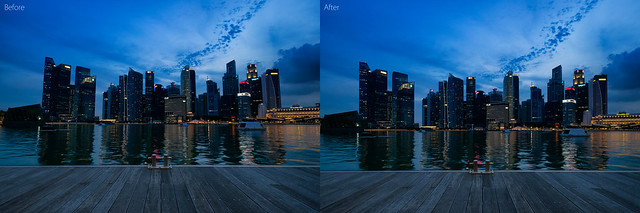 Before & After Perspective Correction 2