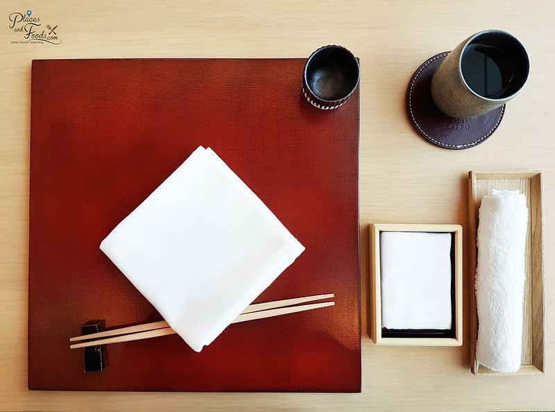 taka by sushi saito st regis kl tableware