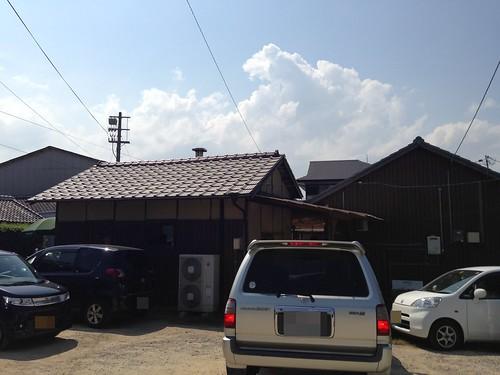 kagawa-marugame-nakamura-udon-parking