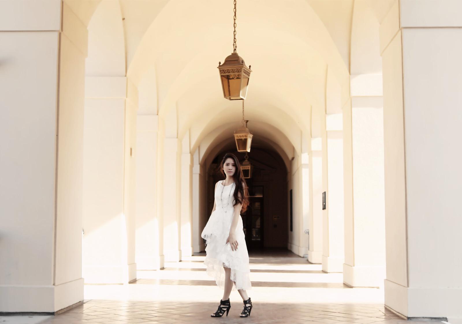 0249-modern-white-romance-midi-dress-chiffon-elegant-romantic-summer-korean-fashion