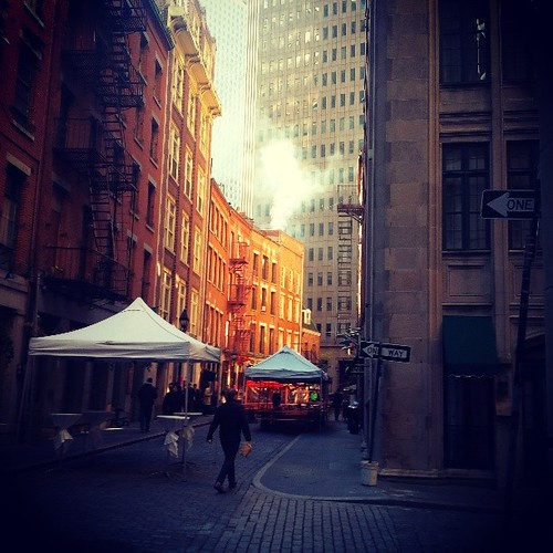 #NYC - really cool historic st.