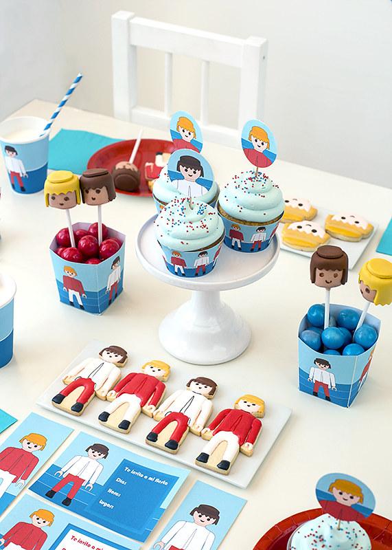 Kit de fiesta gratuito Playmobil