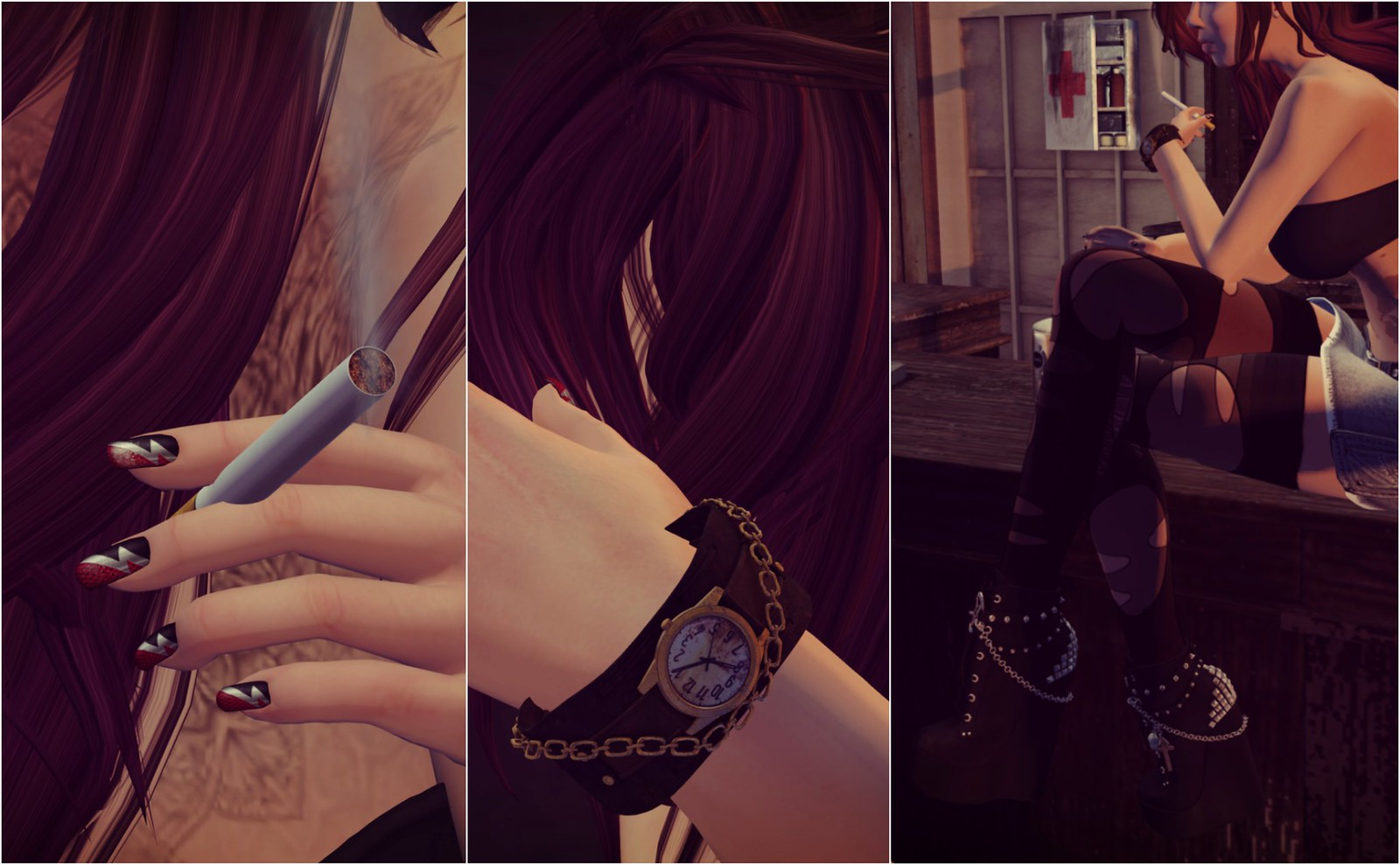 Fashion Therapy LOTD # 278 Collage