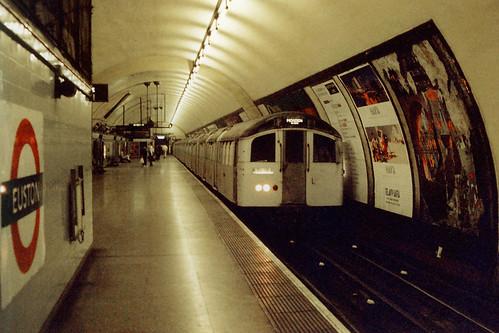 London Underground - Northern Line - 1959 stock at Euston