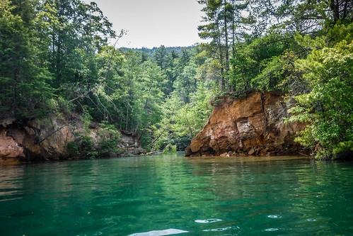 Lake Jocassee Kayaking-110