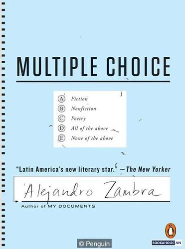 Alejandro Zambra, Multiple Choice