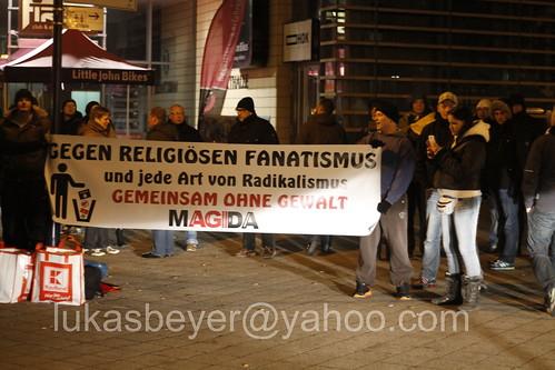 Magida in Magdeburg blockiert