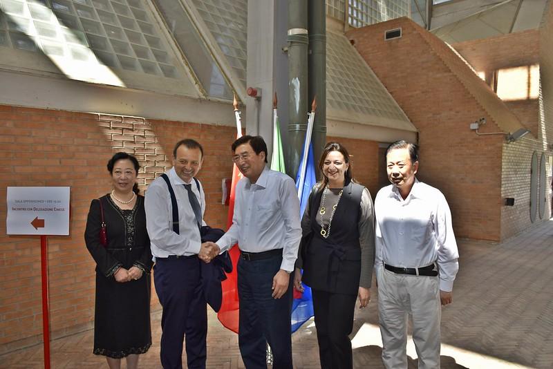 Visita della delegazione del partito comunista cinese della Municipalità di Pechino a Città della Scienza