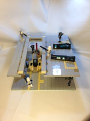 Lego Star Wars battlefront galactic conquest: coruscant Jedi temple library by KaminoKingdom