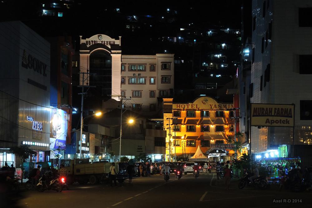 Downtown Jayapura, West Papua