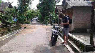 Motorbike in Yogyakarta