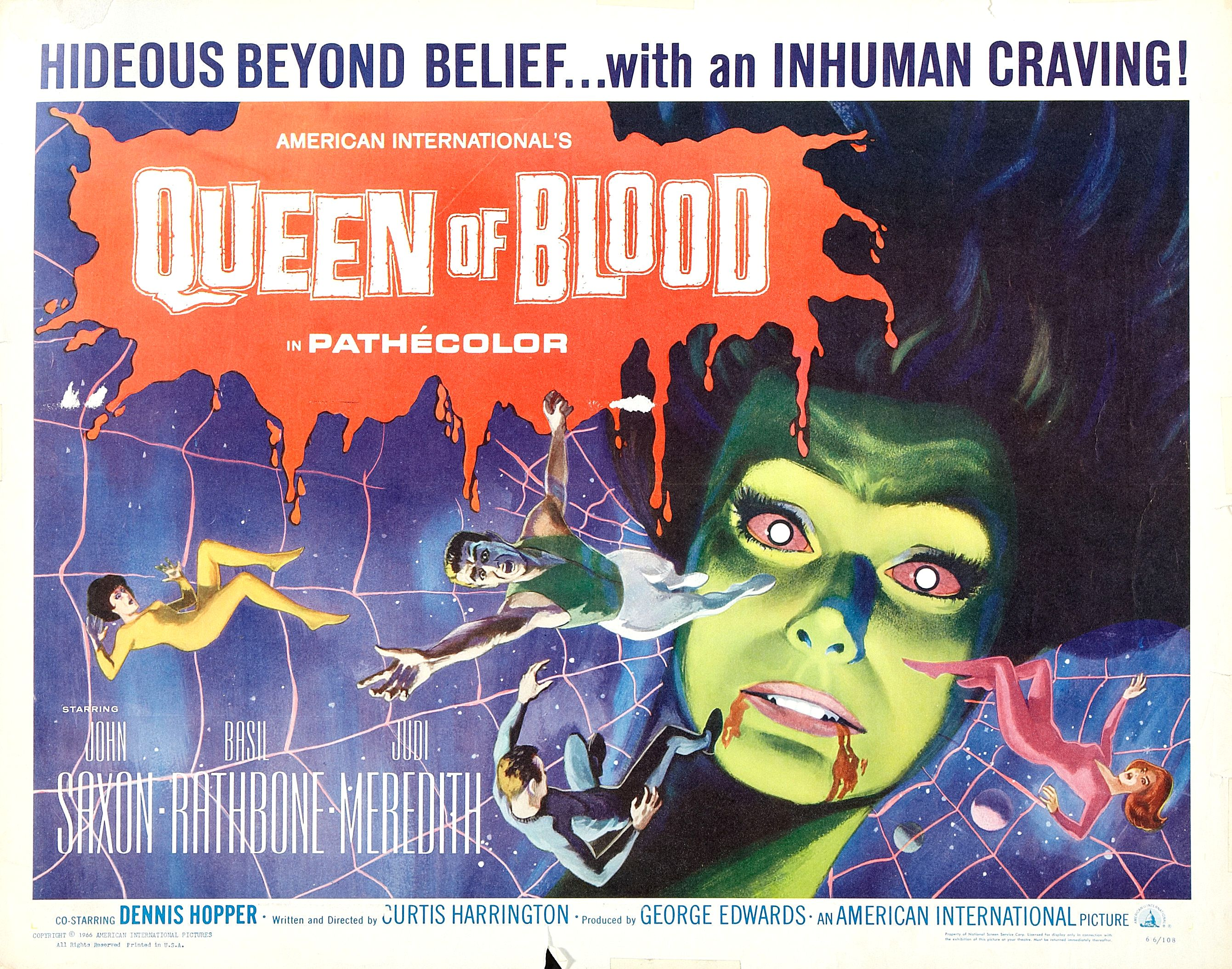 Queen of Blood (1966)