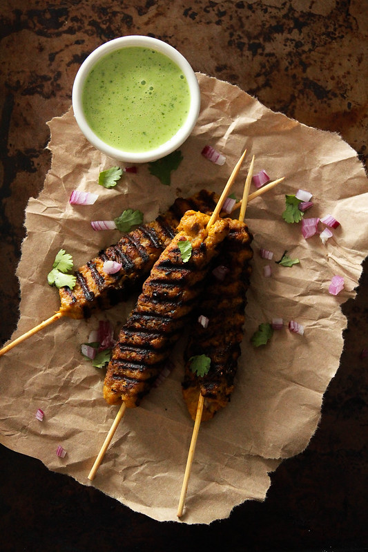 Turkey Sheek Kebabs