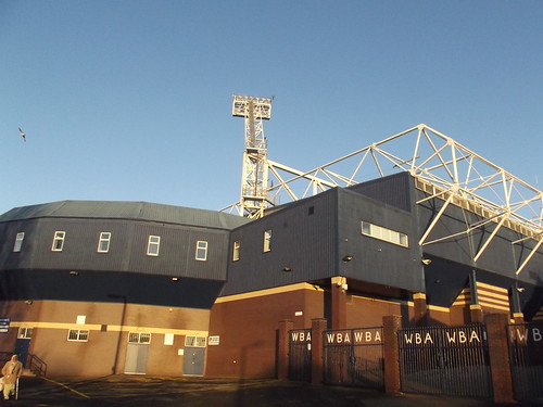 The Hawthorns - West Bromwich Albion FC - Halfords Lane -  Halfords Lane Stand and Smethwick End