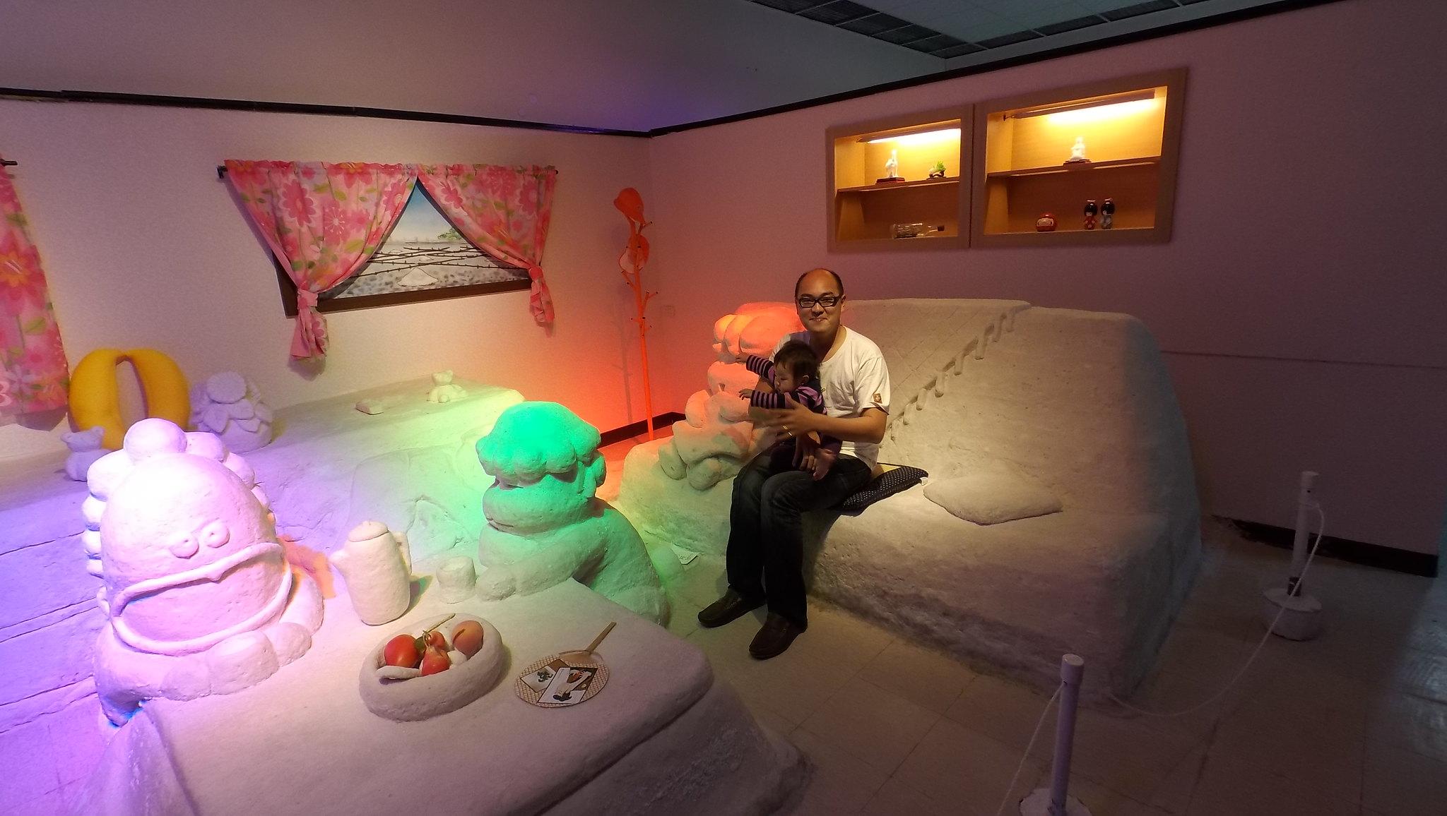 溜小人   台南   台灣鹽博物館   我們這一家鹽雕展@ 陳亮亮與 ...
