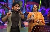 Super Singer Junior – Madhura Marikozhundhu Vaasam by SSJ04 Bharath and Chithra