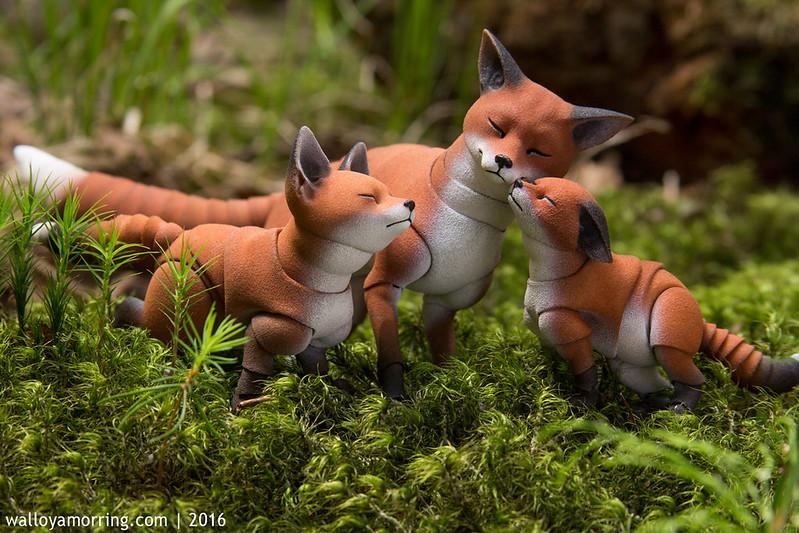 BJD fox cubs