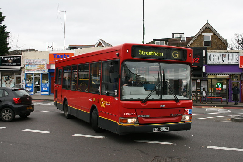 London General LDP267 on Route G1, Streatham Station