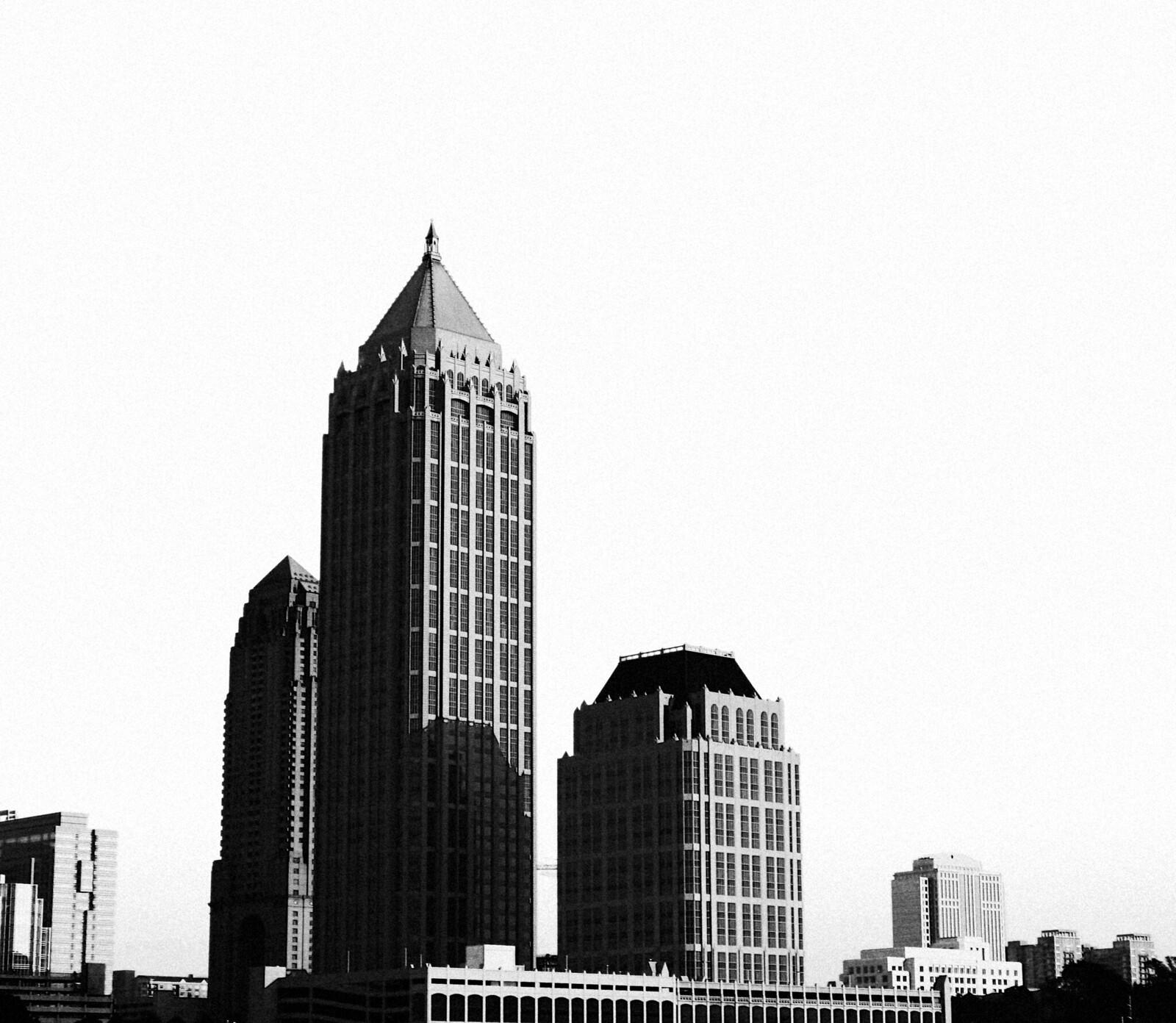 The Marriott Four Seasons, One Atlantic Center and Atlantic Center Plaza, Midtown Atlanta, 2007