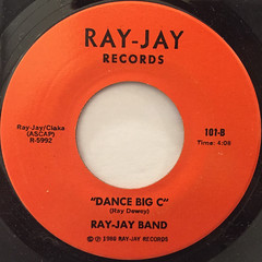 RAY-JAY BAND:TOUCHDOWN CLEVELAND BROWNS(LABEL SIDE-B)