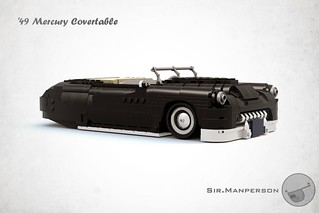 More pictures soon....  Custom '49 Mercury Convertible - 16-wide - Lego
