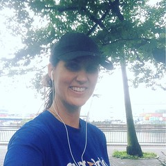 Running in the rain for my last run in Japan until August!