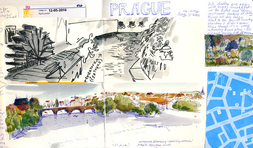 Sketchbook #97: Prague