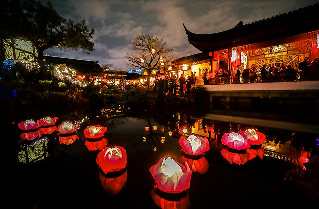 Winter Solstice Lantern Festival at Dr. Sun Yat-Sen Garden in Vancouver Canada