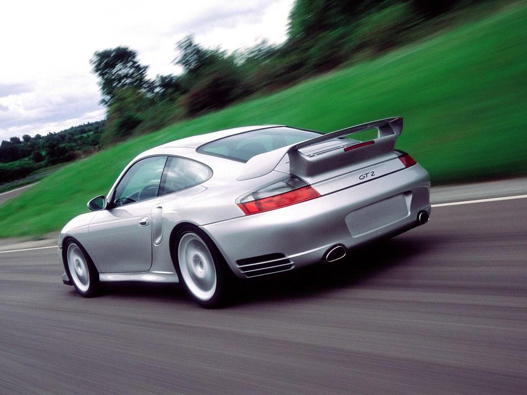 Porsche 911 GT2 (кузов 996). 2001 – 2003 годы