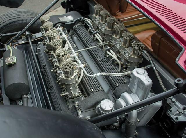 Двигатель Lamborghini Miura SVJ 1971 года выпуска