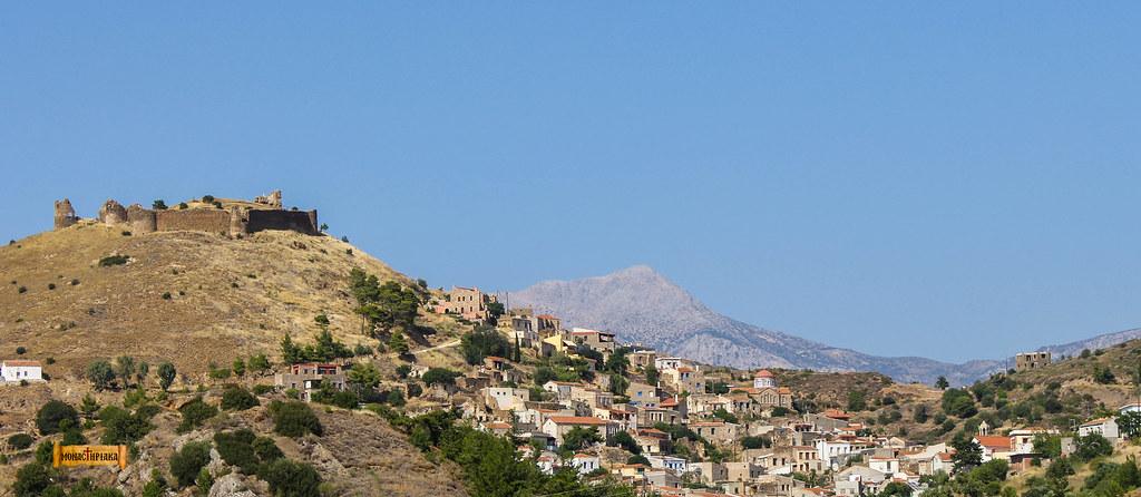 Χίος / Το κάστρο της Βολισσού / Greece
