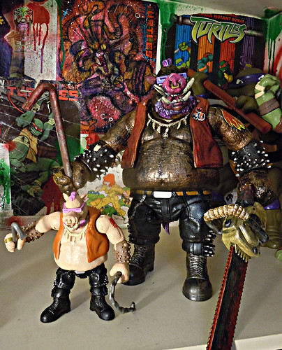 tOkKustom :: NEW CLASSIC 'FOOT' Trio :: BEBOP viii / ..with standard TMNT:OOTS Movie Bebop '16