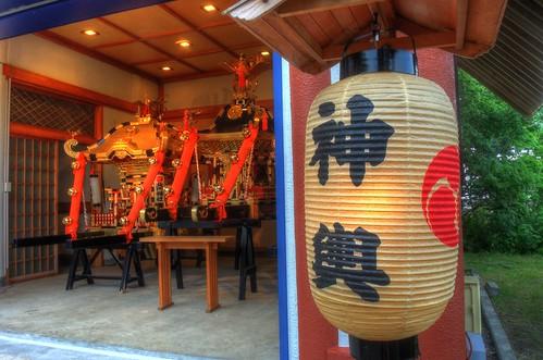 'Mikoshi' at Hokumon Shrine, Wakkanai on JUL 04, 2016 (9)