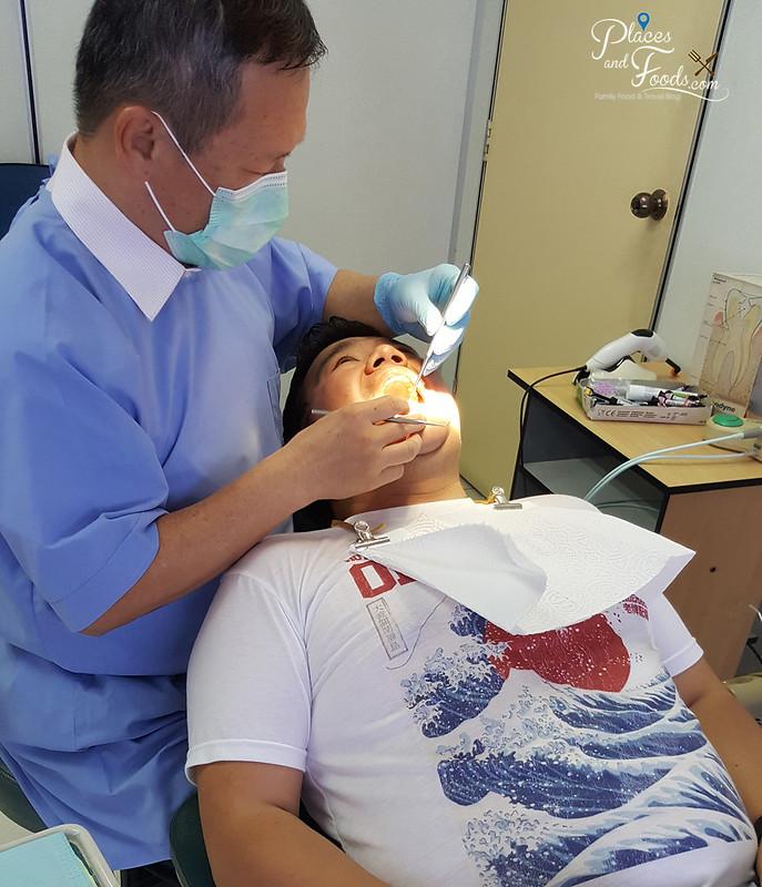 sensodyne dentist check