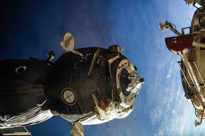 Soyuz TMA-13M undocks from MRM1
