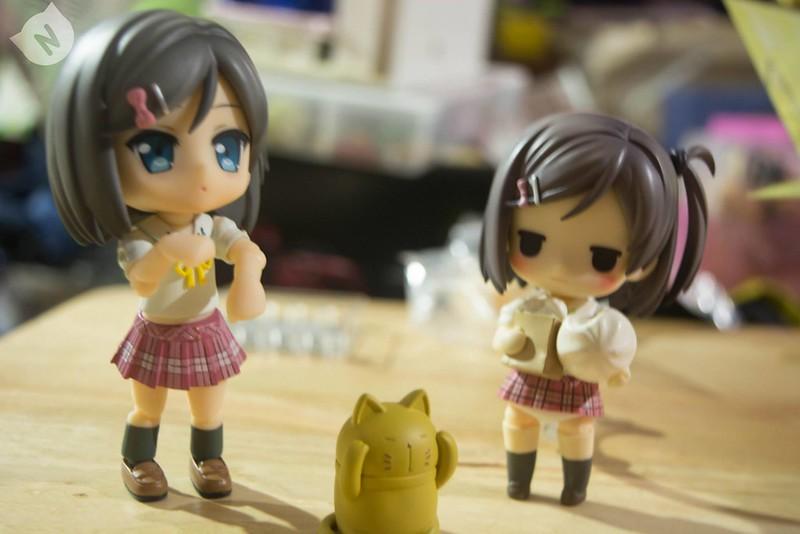 That stoney cat. I don't think nendoroid Tsukiko is pleased.
