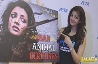 Kajal Aggarwal launches PETA's anti circus ad