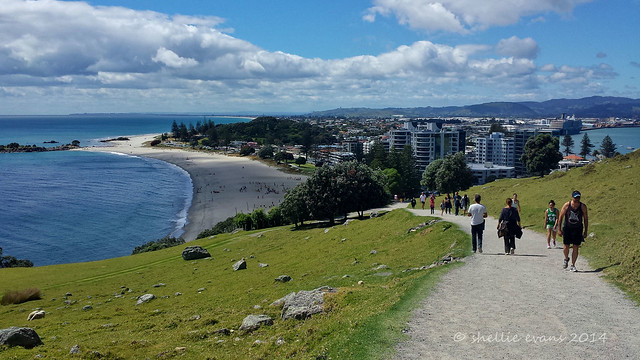 Mt Maunganui- To the top of the Mount