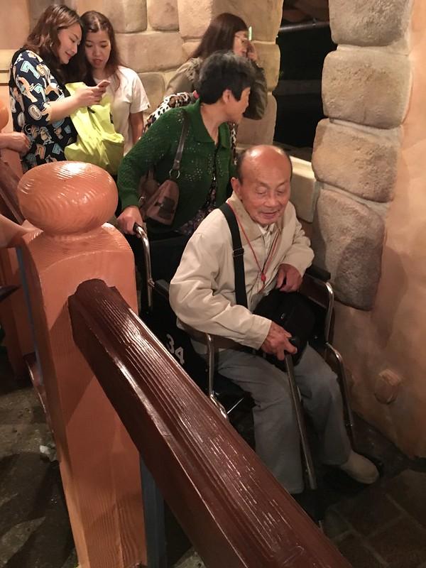 Wheelchair Access at Shanghai Disneyland