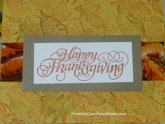 Thanksgiving Card overstamp 2