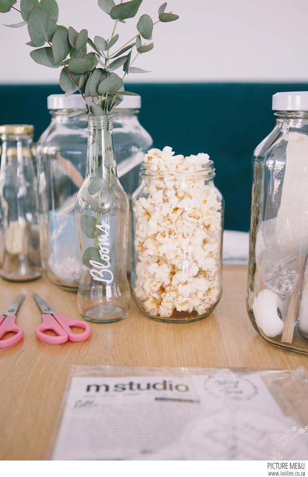Pretty Party food - Confetti popcorn recipe