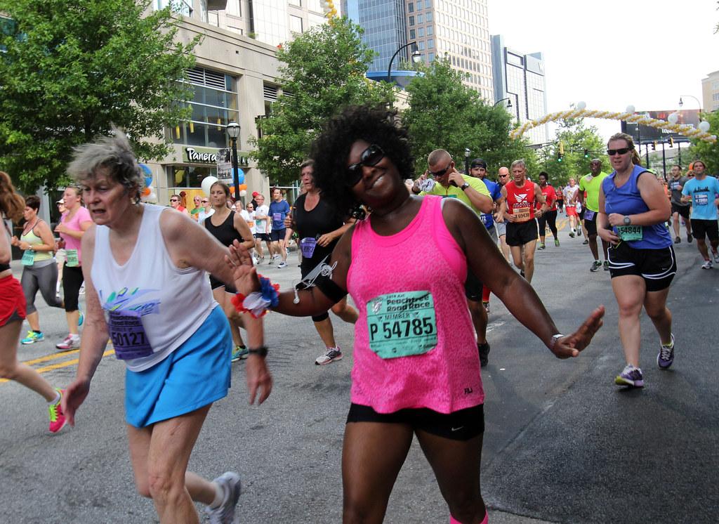 Fourth of July fun run in Atlanta - 30