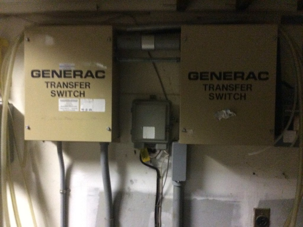 Generac 8Kw generator balky start and transfer switch makes clicking