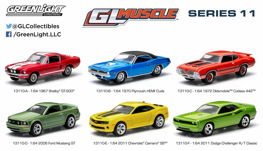 13110 - 1:64 GL Muscle Series 11