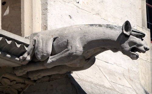 Jumieges Abbey Ruins: Gargoyle