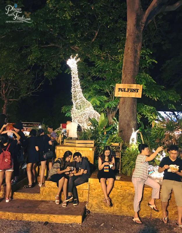 tgif fest bangkok chill area