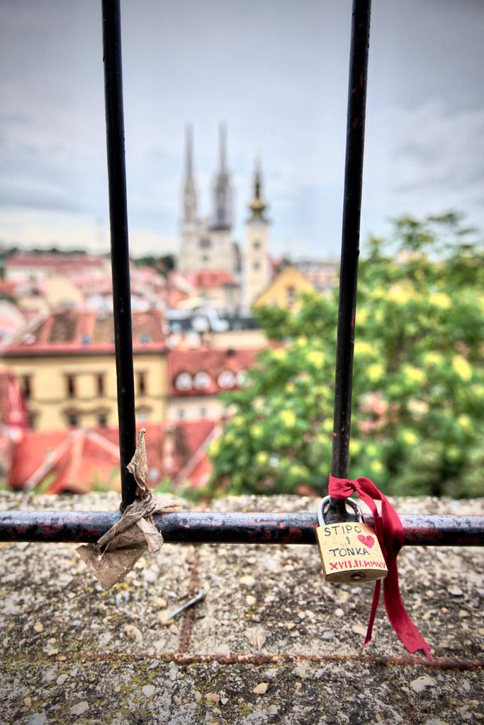 Zagreb Love Lock