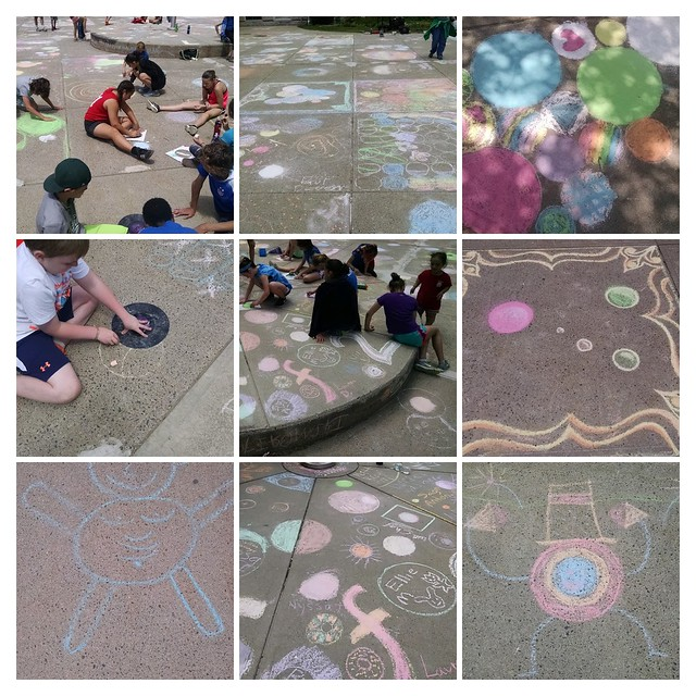 Making Chalk Dots