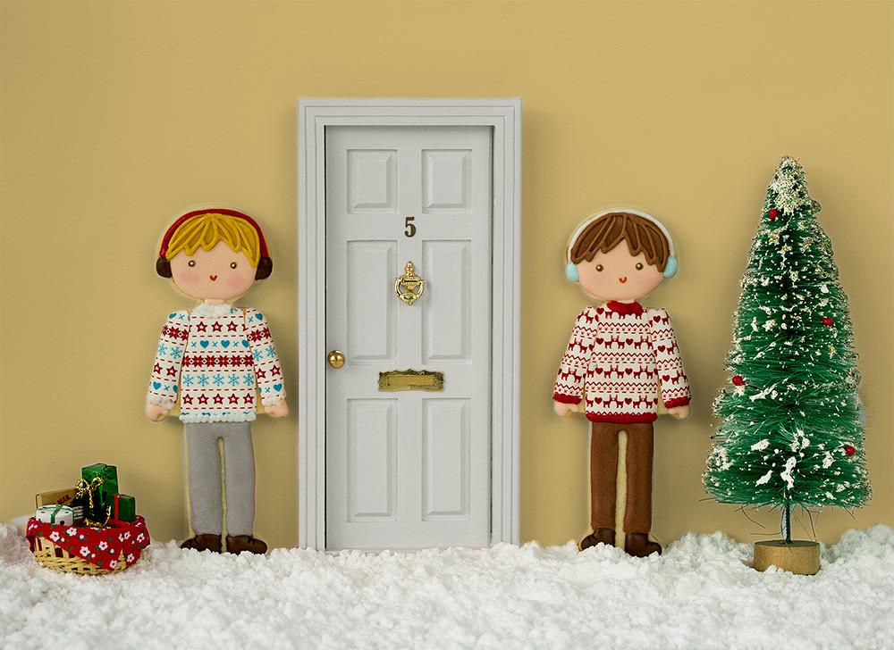 Galletas niños Navidad